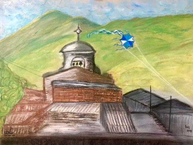 La Iglesia y la cometa_luz2017
